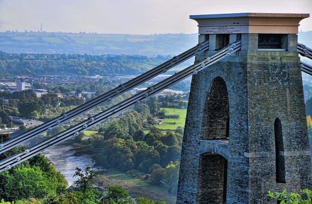 Clifton Suspension Bridge - Bristol na weekend